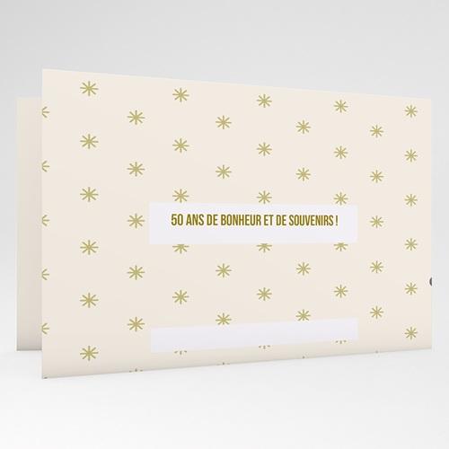 Invitations Anniversaire Mariage - L'envolée amoureuse 20562 thumb