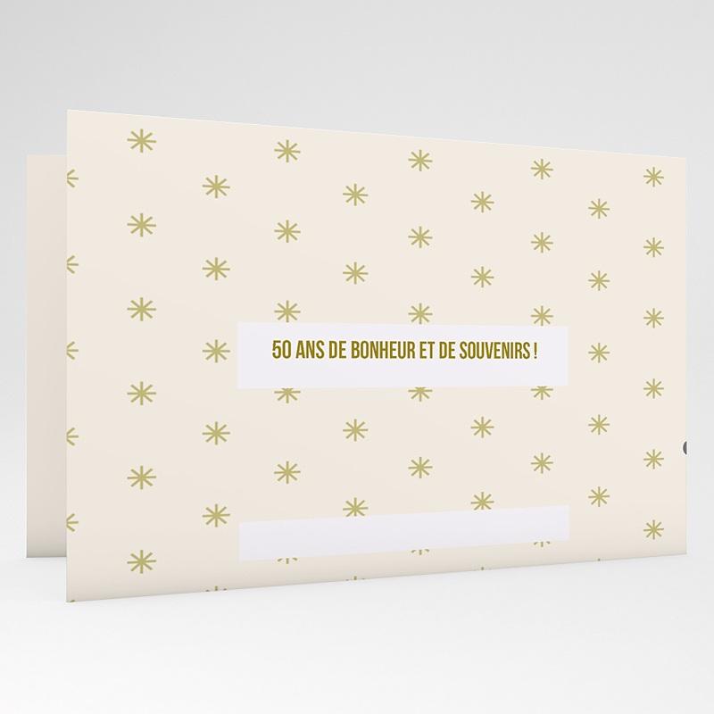 Carte invitation anniversaire mariage L'envolée amoureuse gratuit