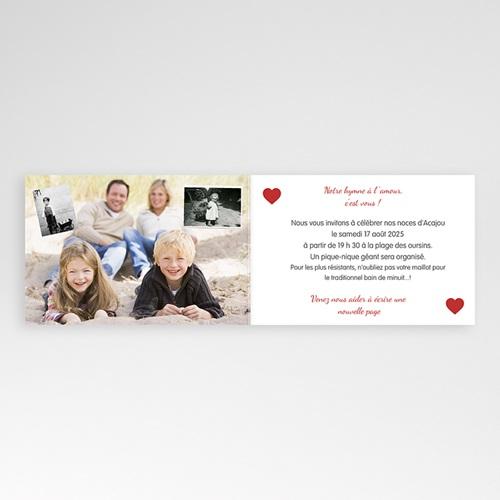 Invitations Anniversaire Mariage - Sur le fil 20594 preview