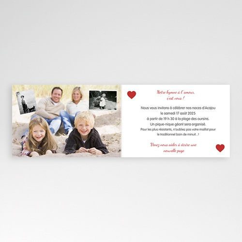 Invitations Anniversaire Mariage - Sur le fil 20594 thumb