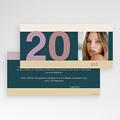 Carte Invitation Anniversaire Adulte Anniversaire classique pas cher