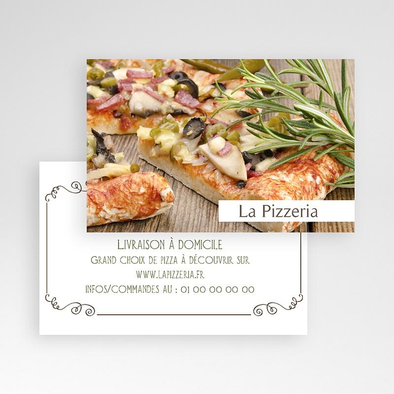 Carte de Visite La Pizzeria pas cher