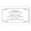 Carte de Visite - La Pizzeria 20734 thumb