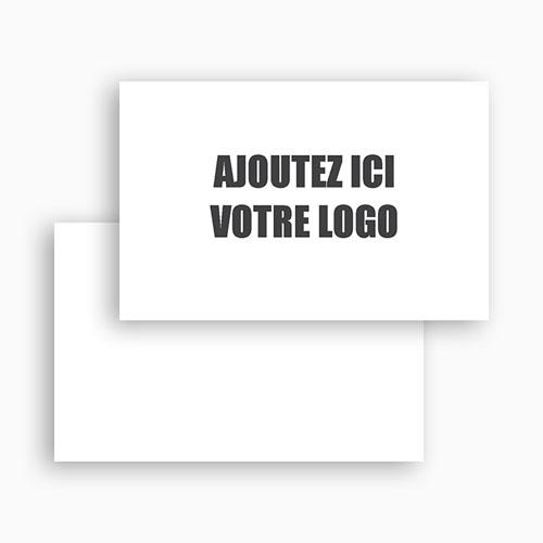 Carte de Visite Ajoutez votre logo gratuit