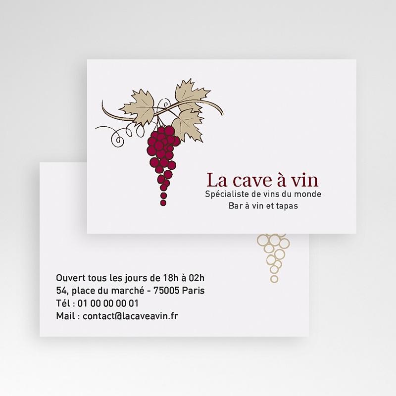 Extrêmement Carte de Visite - Bar à Vin | Carteland.com RQ47