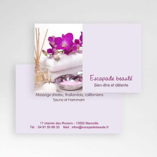 Carte de Visite Salon de beauté pas cher