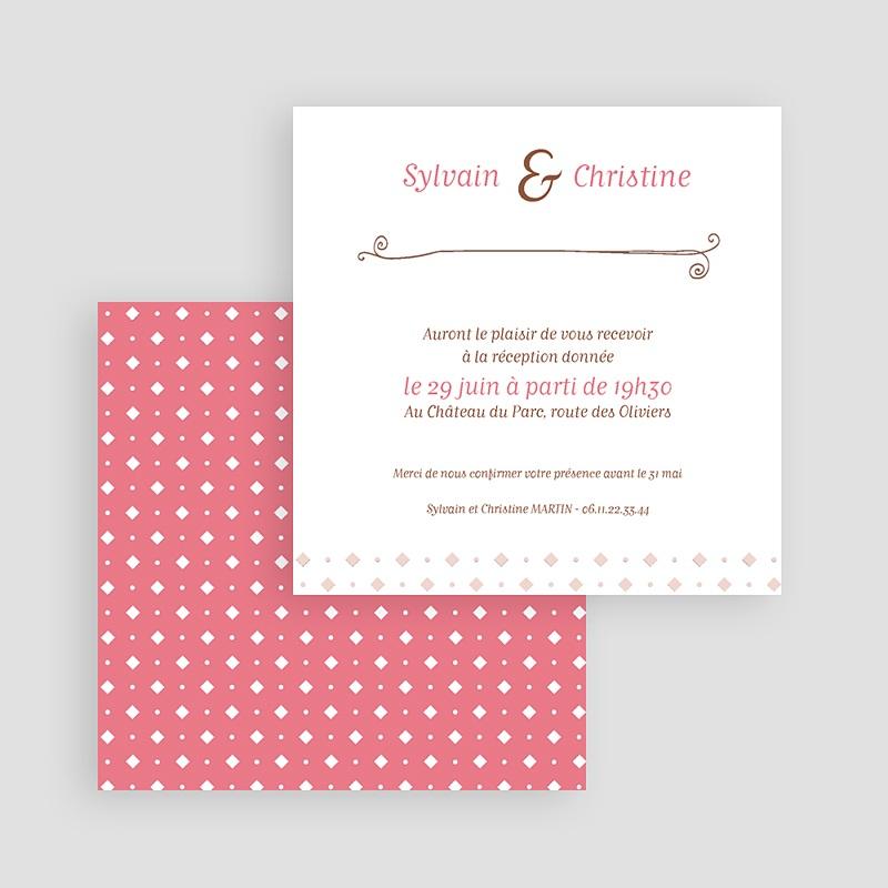Carton Invitation Personnalisé vintage cottage gratuit