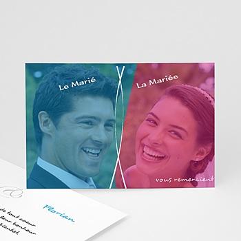 Acheter remerciements mariage personnalisés chouchou et loulou