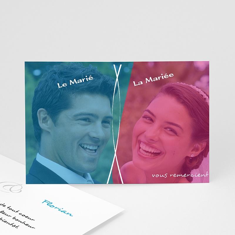 Remerciements Mariage Personnalisés Chouchou et Loulou