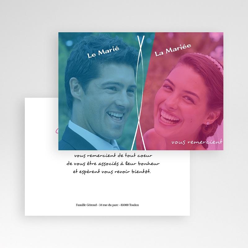 Remerciements Mariage Personnalisés Chouchou et Loulou pas cher