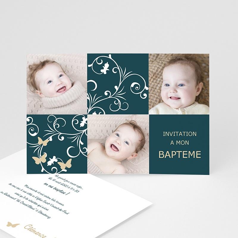 Faire-part Baptême Fille - Sacrement et photos 2120 thumb