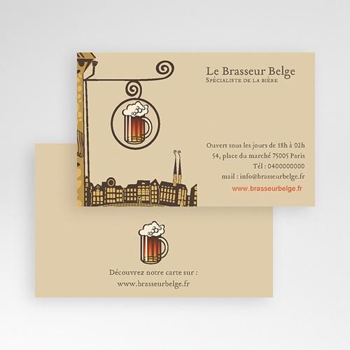 Carte de Visite Brasserie pas cher