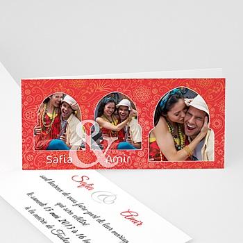 Faire Part Oriental - Mariage oriental - 3