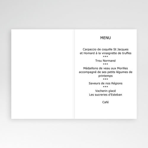Menu de Communion - Bon appétit - beige 2137 preview