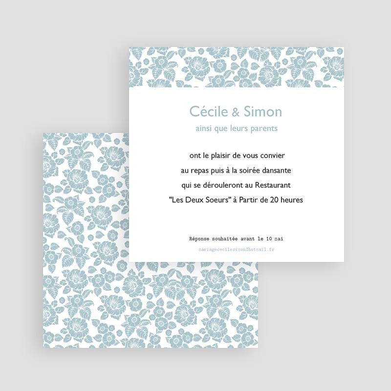 Carton Invitation Personnalisé Picorette gratuit