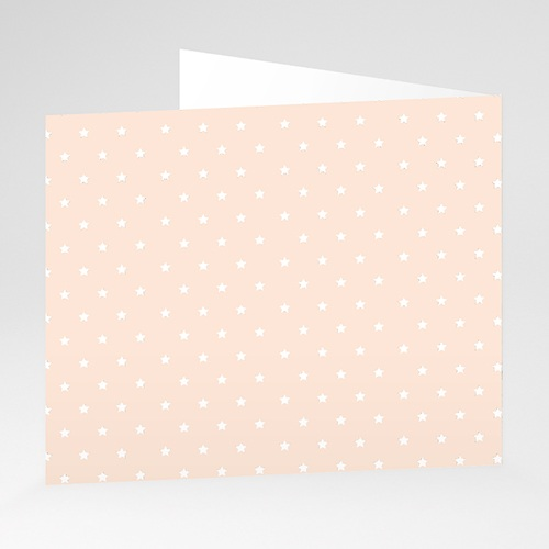 Faire-Part Naissance Fille Petite étoile rose gratuit