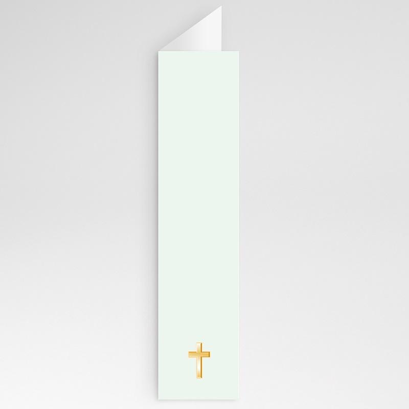 Menu communion Vert pâle gratuit