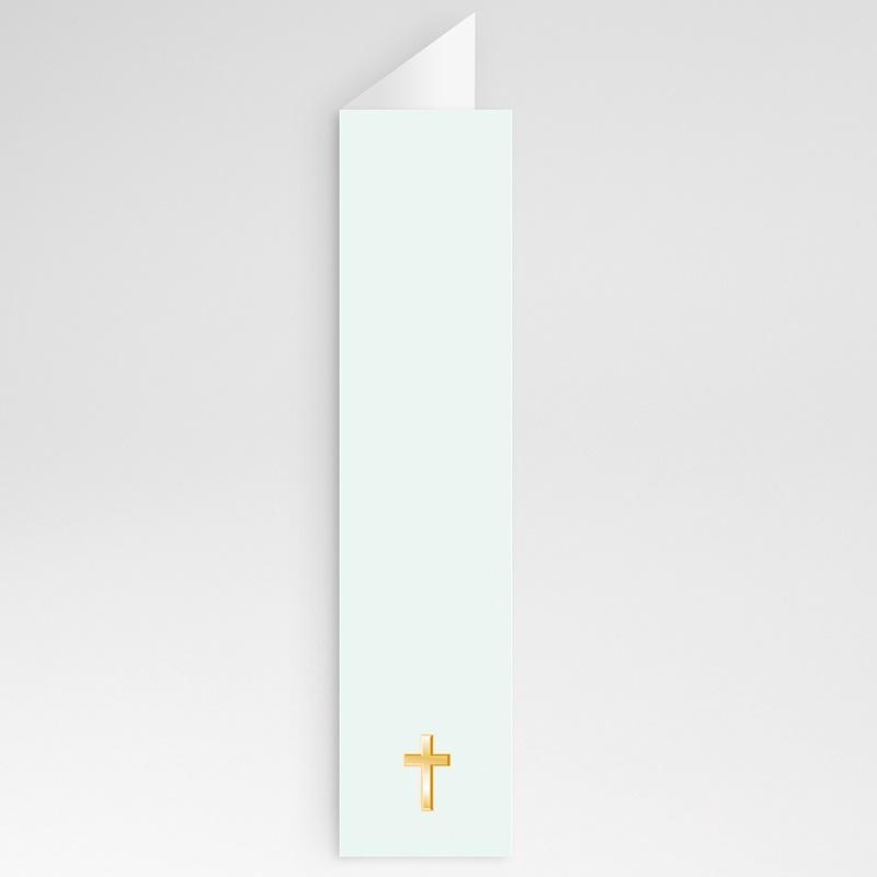 Menu de Communion - Classique - bleuté 21434 thumb