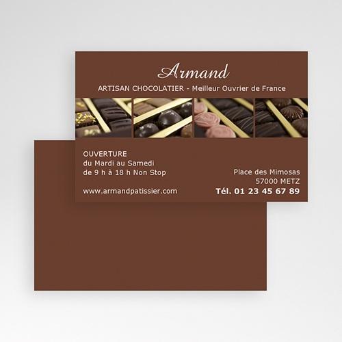Carte de Visite - Patissier Chocolatier 21440 thumb