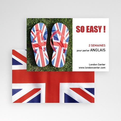 Carte de Visite - English  21450 preview