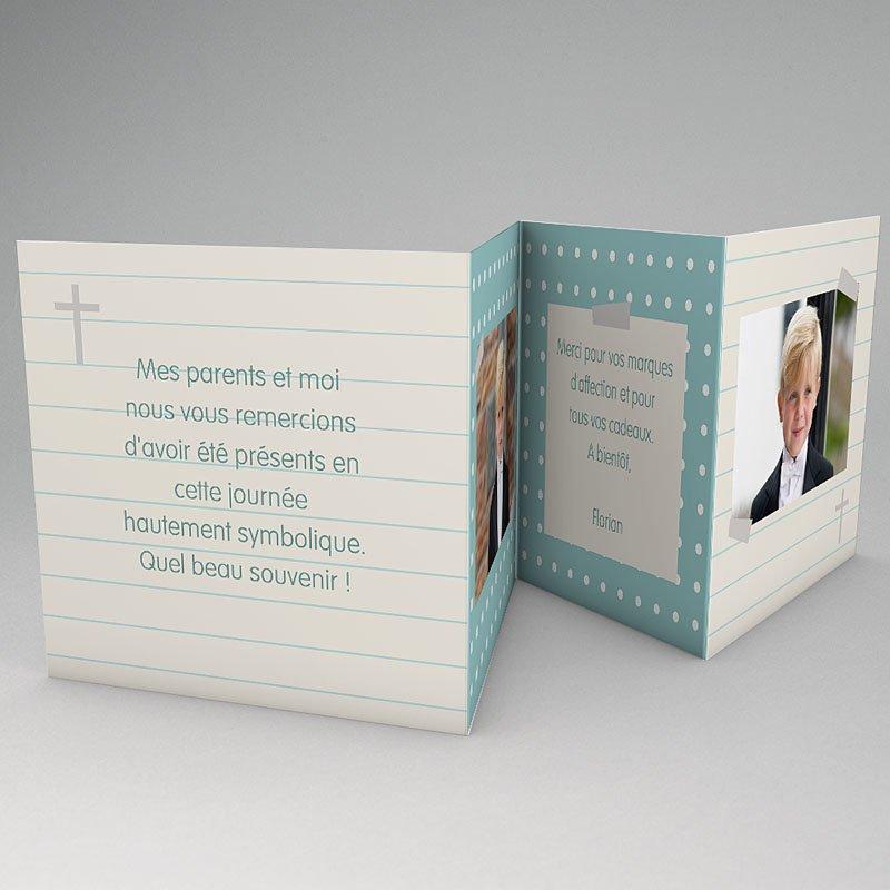 Remerciements Communion Fille - Mon petit  journal 21466 thumb