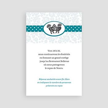 Carton Invitation Personnalisé - Picotis - 3