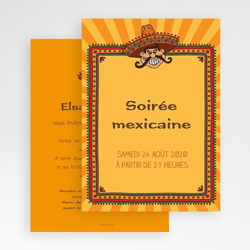 Invitation Anniversaire Adulte - Soirée mexicaine 21757 preview