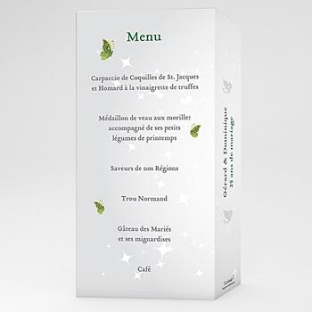 menu anniversaire personnalisé | carteland