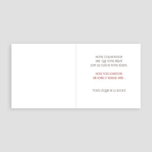 Cartes de Voeux Professionnels - Patchwork montagne 21803 preview