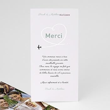 Remerciements Mariage Personnalisés - Destination Bonheur - 4