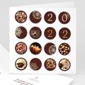 Cartes de Voeux Professionnels - Couleur chocolat 22010 thumb