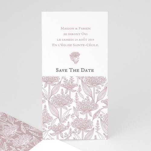 Save the date mariage Un air d'autrefois