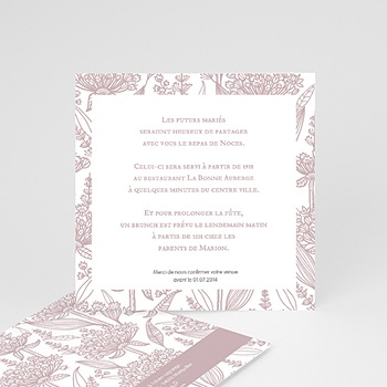 carte invitation mariage cartons personnalis s. Black Bedroom Furniture Sets. Home Design Ideas