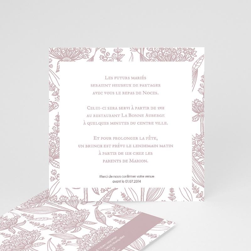 Carton Invitation Personnalisé Un air d'autrefois