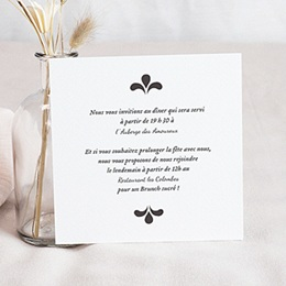 Invitations Ornement Vintage