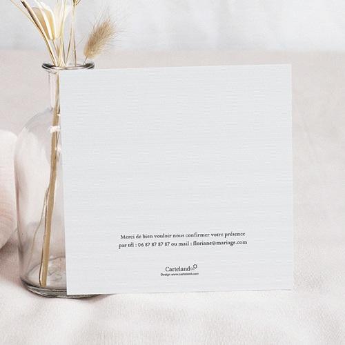 Carton Invitation Personnalisé Ornement Vintage pas cher