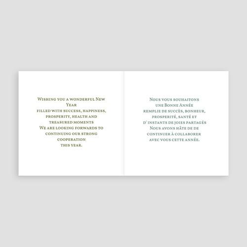 Carte de Voeux Entreprise Arbre à Souhaits pas cher