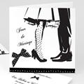 Faire-Part Mariage Personnalisés - Silhouettes 22435 thumb