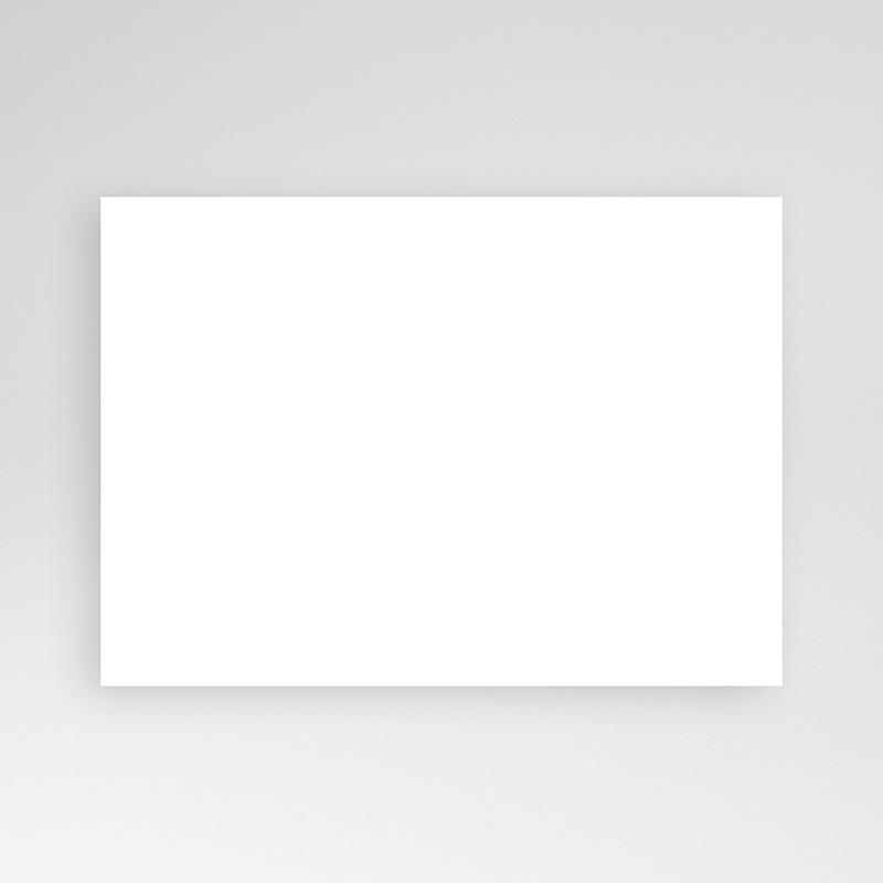 Faire-Part Baptême Vierge format rectangle pas cher