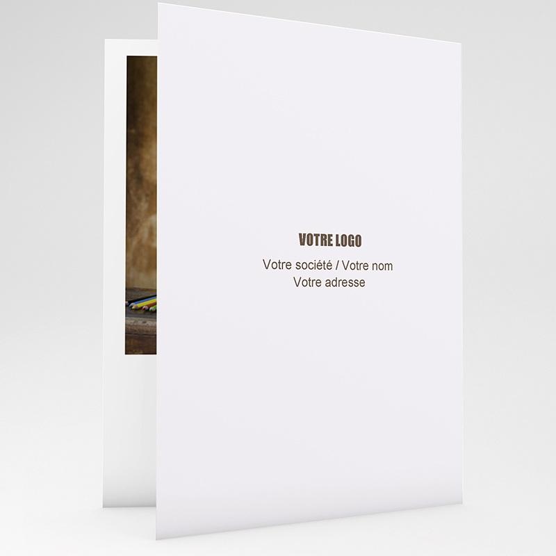 Carte de Voeux Professionnelle - Trèfle Porte Bonheur 22580 thumb