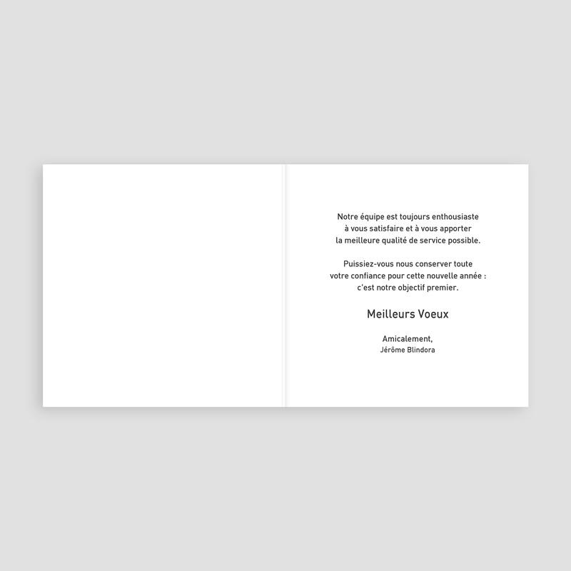 Carte de Voeux Entreprise Sapin à bulles colorées pas cher