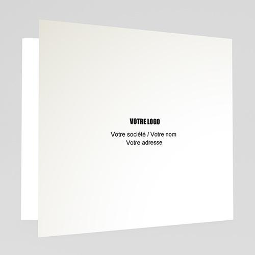 Cartes de Voeux Professionnels - Petits rennes bleus 22634 preview