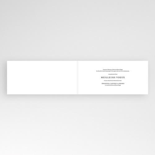 Carte de Voeux Professionnelle - Fine dentelle 22672 thumb