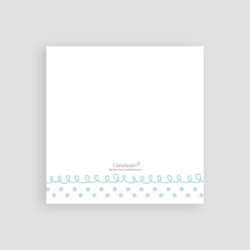 Carton Invitation Personnalisé Fanions pastels pas cher