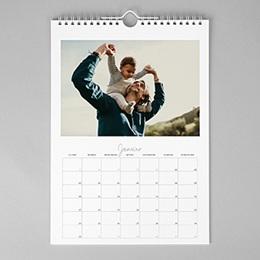 Calendrier Photo 2018 - Calendrier jours personnalisés - 1
