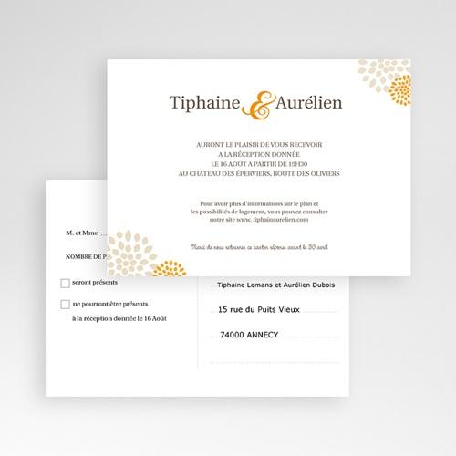 Carton Invitation Personnalisé Campagne Provençale - Tiphaine pas cher