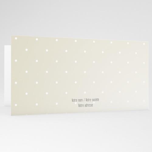 Carte de Voeux Entreprise Boules ornées gratuit