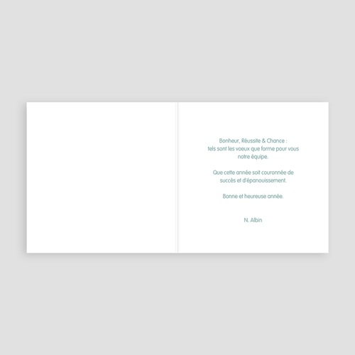 Carte de voeux entreprise Arbre étoilé pas cher