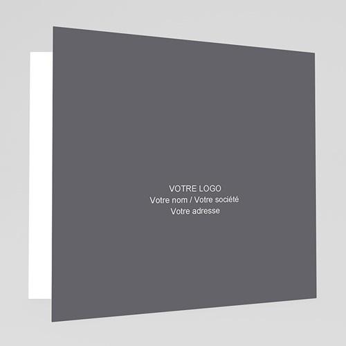Carte de Voeux Entreprise Sapin Fluo gratuit