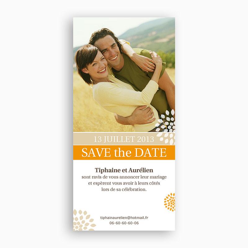 Save the date mariage Thème Provençal